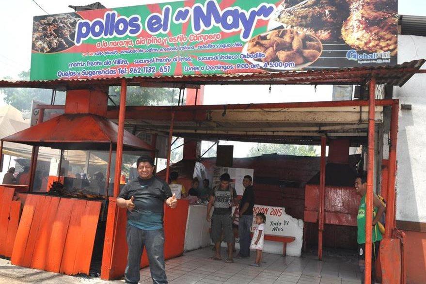 Pollo Loco de su amigo May funciona desde hace 15 años en Tapachula y ya cuenta con tres sucursales. (Foto Prensa Libre: Édgar Girón)