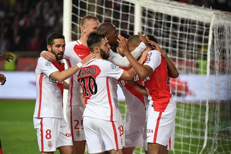 El Mónaco volvió a hacer historia en la Liga francesa. (Foto Prensa Libre: AFP)