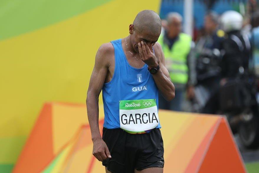 García finalizó en la posición 118 en el maratón olímpico. (Foto Prensa Libre: COG)