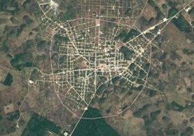 La Libertad, Petén. Imagen Prensa Libre: Google Maps.