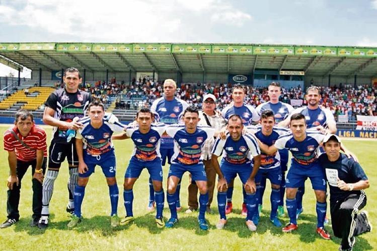 DEPORTIVO MICTLÁN está listo para afrontar el torneo Apertura 2015 de la Liga Nacional. El próximo sábado será su debut, cuando reciba a Municipal en el estadio La Asunción. (Foto Prensa Libre: Cortesía Héctor Rodas)