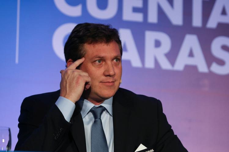 Alejandro Domínguez, presidente de la Conmebol, condena la corrupción en el pasado. (Foto Prensa Libre: EFE)