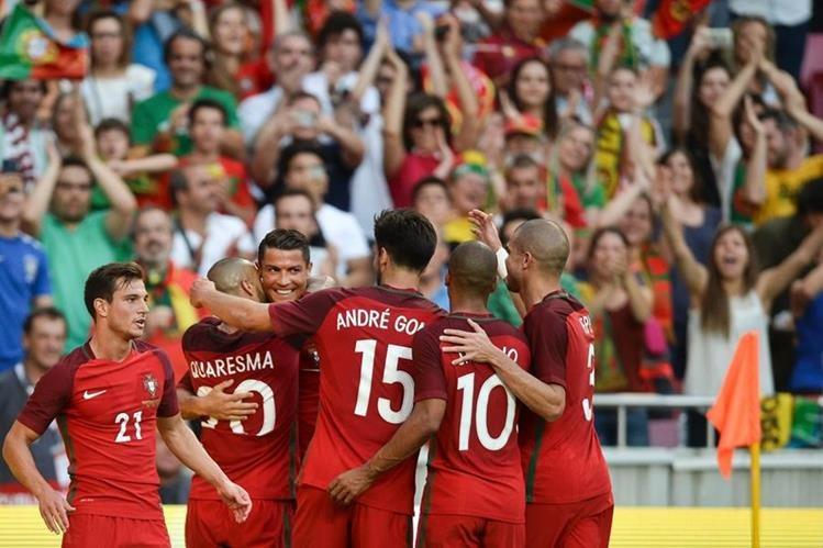 Cristiano Ronaldo será el referente de la selección lusa para la Eurocopa. (Foto Prensa Libre: AFP)