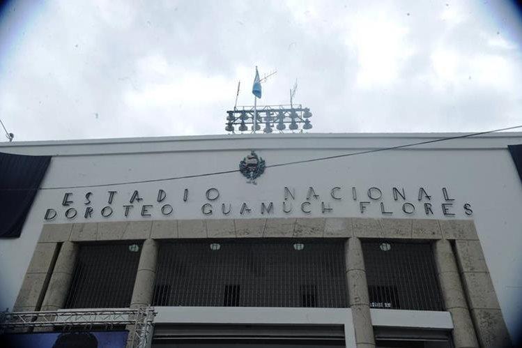 Resultado de imagen para estadio nacional doroteo guamuch flores