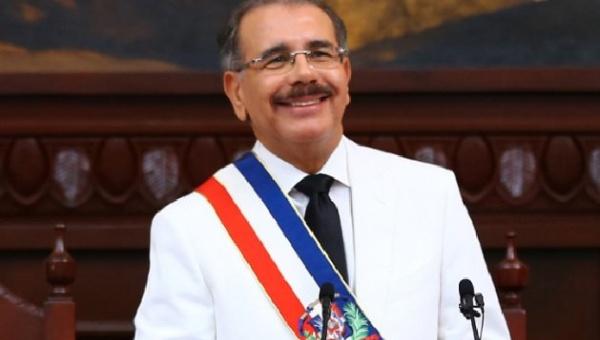 Danilo Medina asumió la Presidencia para un segundo mandato de cuatro años.(AP).