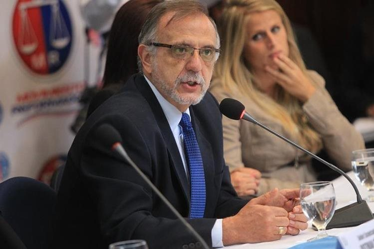 El jefe de Cicig llama a vigilar aprobación de las reformas constitucionales (Foto Prensa Libre: Hemeroteca PL)