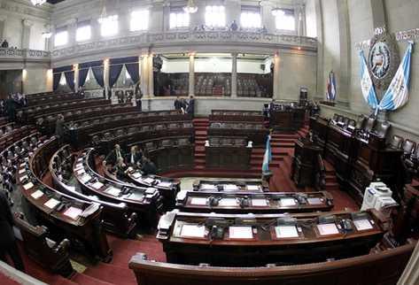 Las interpelaciones han paralizado la actividad parlamentaria este año. (Foto Prensa Libre: Archivo)