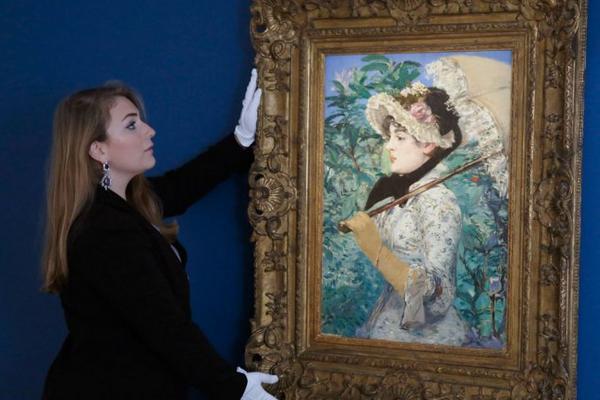 """<p>""""La Primavera"""" de Manet subastada por US$5 millones. (Foto Prensa Libre: Archivo)<br></p>"""