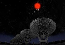 Las señales fueron detectadas por primera vez en 2007, pero las teorías para explicarlas nunca fueron sólidas: van desde asociarlas a la actividad de súper agujeros negros hasta considerarlas señales de inteligencia fuera de la galaxia. (BILL SAXTON, NRAO, AUI, NSF, HUBBLE)