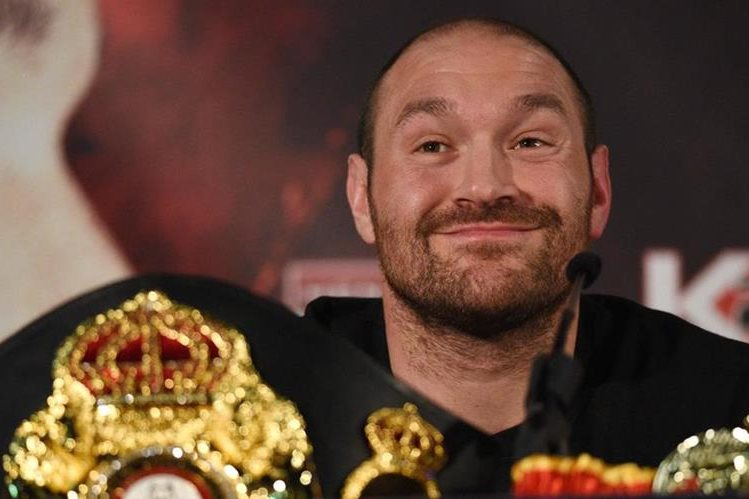 Tyson Fury se ha visto envuelto en situaciones polémicas en los últimos meses. (Foto Prensa Libre: AFP)