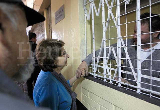 La ex magistrada de la CSJ, Beatriz Ofelia de León está procesada por obstruir el proceso en contra de su hijo Roberto Barreda, principal sospechoso de la desaparición de Cristina Siekavizza. (Foto: Hemeroteca PL)