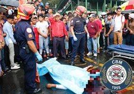Carlos Amílcar Castillo Cruz, de 37 años, murió luego que dos sujetos le dispararan (Foto Prensa Libre: Cortesía CBM).