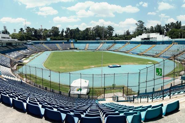 Panorámica del Estadio Nacional Mateo Flores, en la zona 5. (Foto Prensa Libre: Hemeroteca PL)