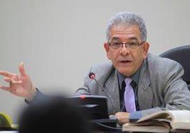 La Comisión Internacional de Juristas respalda las decisiones emitidas por el juez de Mayor Riesgo B Miguel Ángel Gálvez (Foto Prensa Libre: Hemeroteca PL)