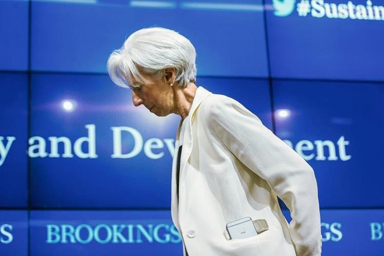 Christine Lagarde es la directora gerente del Fondo Monetario Internacional.
