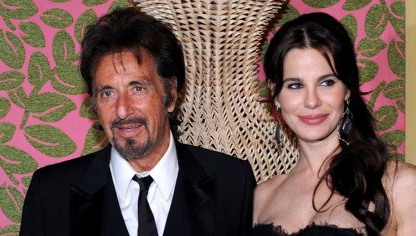 Al Pacino y Lucila Polack
