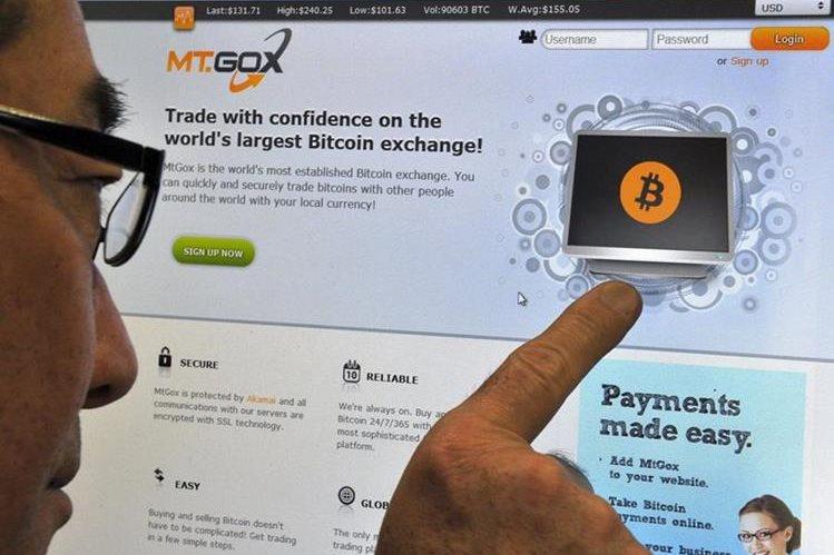 La empresa fue acusada por el fraude de millones de bitcoins. (Foto Prensa Libre: AFP)
