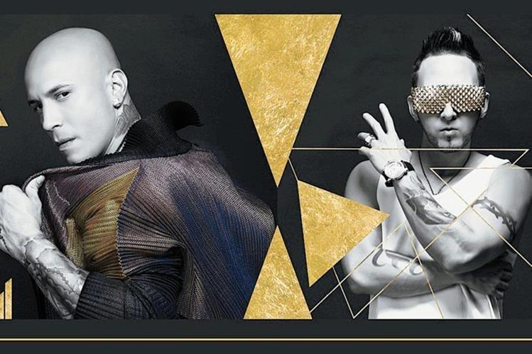 Alexis y Fido, dúo puertorriqueño de música urbana. (Foto Prensa Libre: HemerotecaPL).
