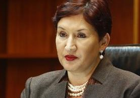 Thelma Aldana, fiscal general y jefa del MP. (Foto Prensa Libre: Hemerotecal PL)