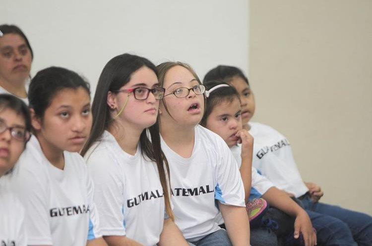 Hoy se juramentó la delegación que participará en los terceros juegos Latinoamericanos de Olimpiadas Especiales, que se desarrollará en Panamá. En la imagen  .Foto Norvin Mendoza
