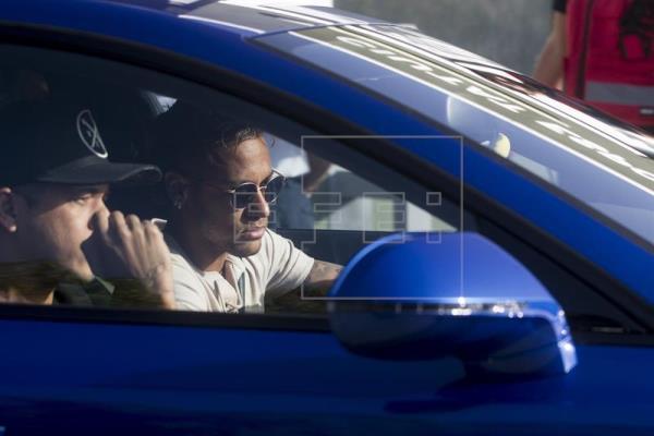 Neymar da Silva, delantero brasileño del FC Barcelona. (Foto Prensa Libre: EFE)