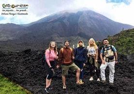 Cinco influencers de Europa visitan varios destinos turísticos de Guatemala, para promocionar el país. (Foto Prensa Libre: Inguat/Facebook)
