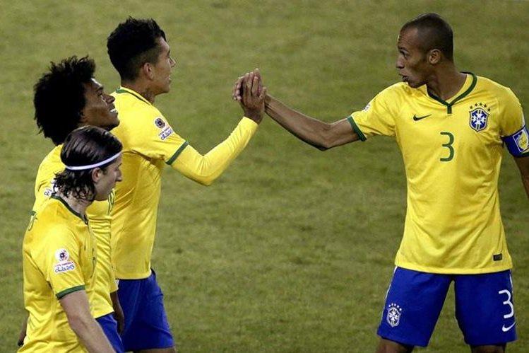 Brasil será cabeza de serie en la Copa América Centenario. (Foto Prensa Libre: EFE)