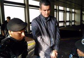 Karl Christian Kaehler representante legal de Tigsa detenido por corrupción en la venta de fertilizantes. (Foto Prensa Libre. Hemeroteca PL)