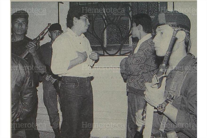 Foto Prensa Libre A los hermanos Marlon y Mario René Salazar 19/01/2000