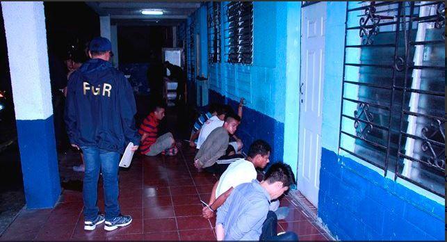 Megaoperativo contra las pandillas en El Salvador. (Foto: Fiscalía General salvadoreña)
