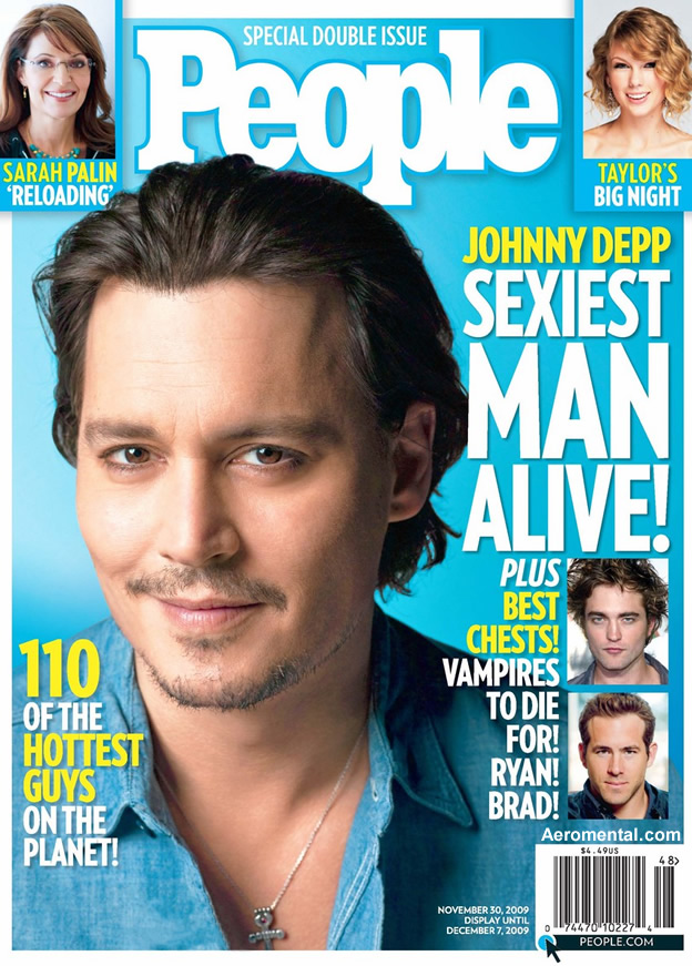 Depp ha aparecido en revistas como uno de los hombres más atractivos del planeta. (Foto Prensa Libre: Hemeroteca PL)