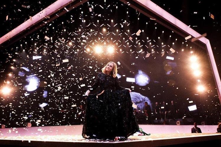 Adele cautiva en España. (Foto Prensa Libre: Tomada de instagram.com/adele)