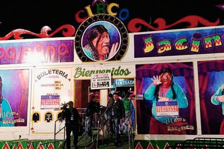 Desconocidos lanzaron una granada en el interior de un circo en Lima,Perú. (Foto Prensa Libre:AP).