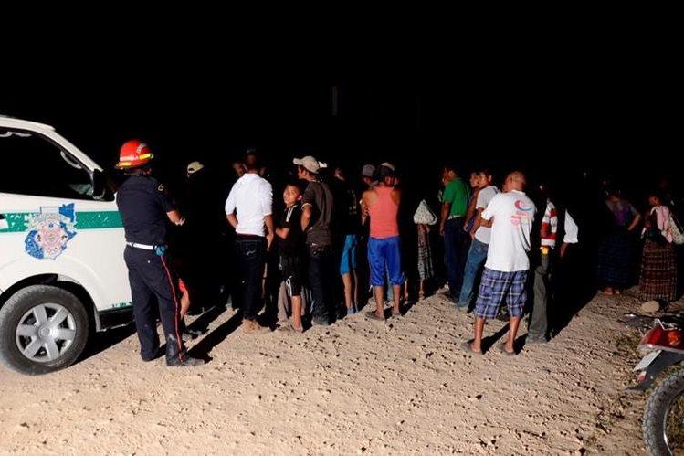 Lugar donde murió la pareja en Sayaxché, Petén. (Foto Prensa Libre: Rigoberto Escobar).
