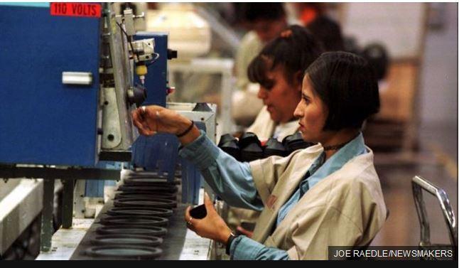 México tiene los salarios más bajos de la región del TLCAN. (Foto Prensa Libre: BBC Mundo)