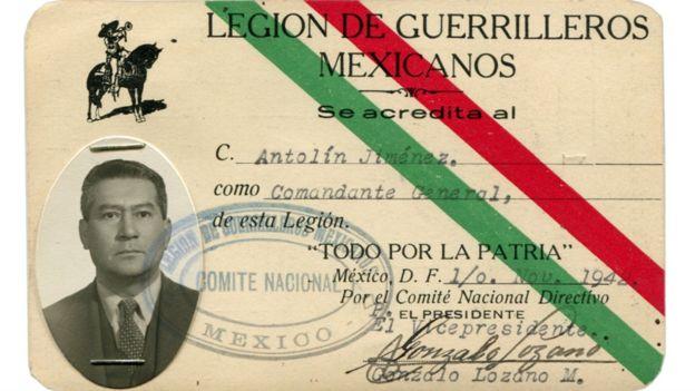 Los grupos de legionarios aprendieron estrategias de guerra que les enseñaron excombatientes de la Revolución como el propio Antolín Jiménez.