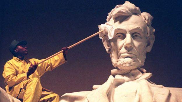 Un reciente libro sobre el expresidente estadounidense Abraham Lincoln explora otros aspectos de su vida. GETTY IMAGES