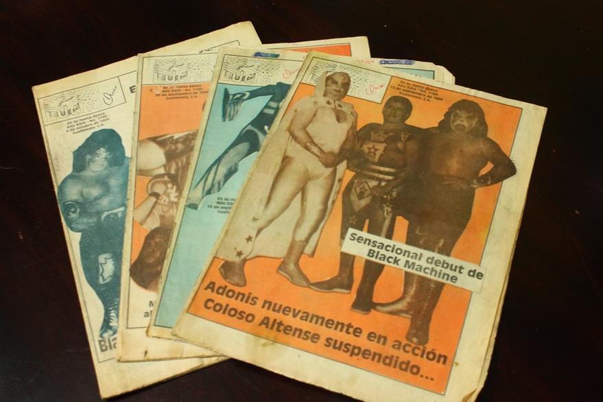 Revista Lucha publicó más de 1 mil 500 ejemplares. (Foto Prensa Libre: Josué León)
