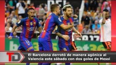Barcelona toma el liderato