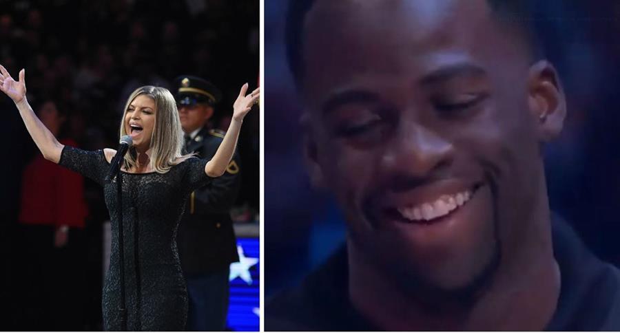 Burlas 'llueven' sobre Fergie y su interpretación del himno