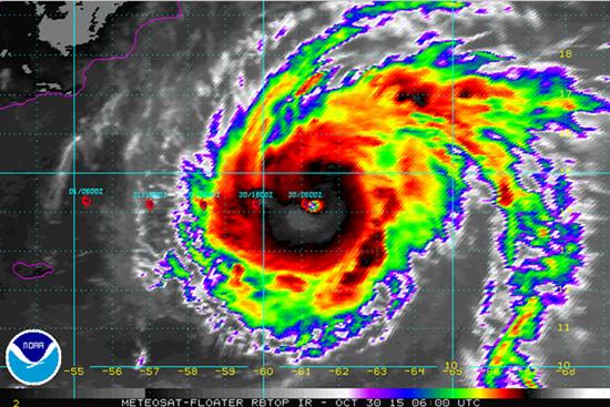 El ciclón potencialmente devastador podría llegar el lunes a Yemen. (Foto: Internet).