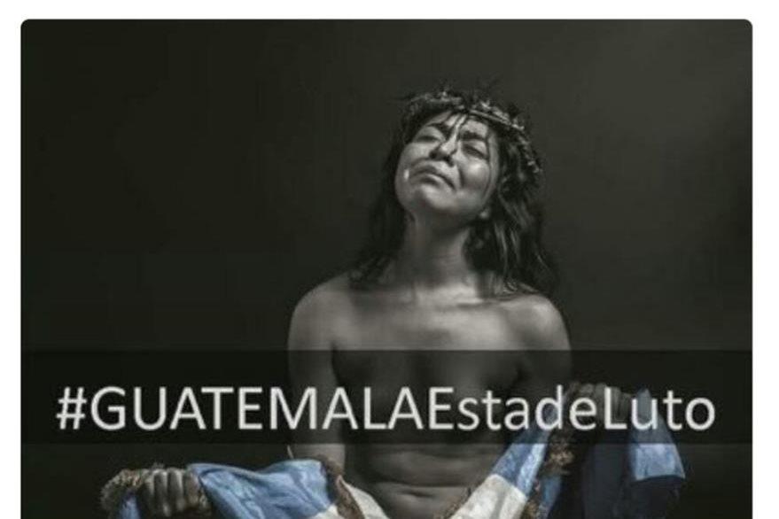 Juan José Paredes, portero de Suchitepéquez cambió su fotografía de Perfil en Twitter. (Foto Prensa Libre: Twitter)