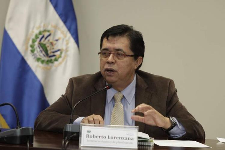 Roberto Lorenzana, secretario técnico de la Presidencia de El Salvador.