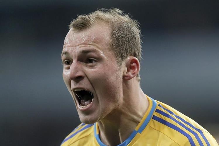 El jugador ucraniano Roman Zozulya está envuelto en la polémica. (Foto Prensa Libre: Hemeroteca PL)