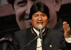 Evo Morales padece en las últimas semanas problemas en la garganta. (AFP).