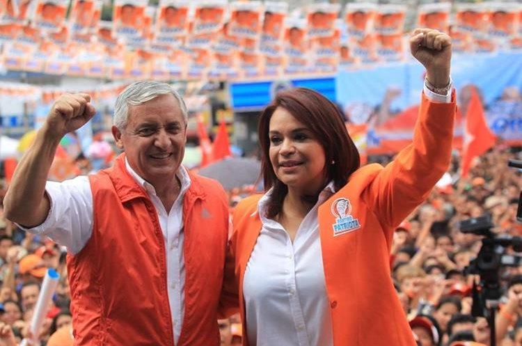 El financiamiento de campaña de los exfuncionarios Pérez Molina y Baldetti también está en la mira, por irregularidades. (Foto: Hemeroteca PL)