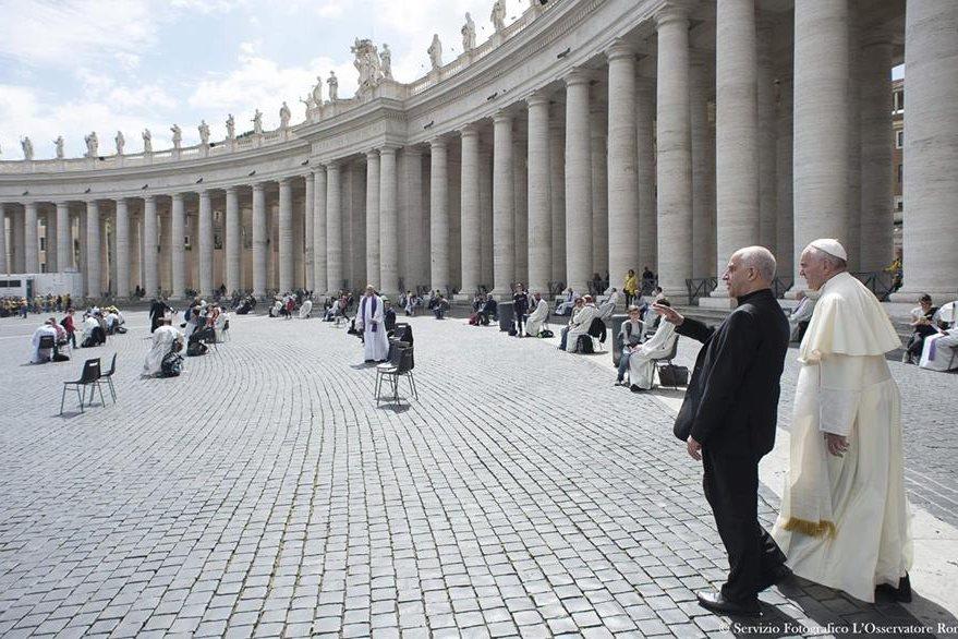 El papa Francisco realizó varias confesiones a los adolescentes.(Foto Prensa Libre: EFE)