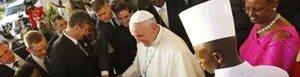Papa Francisco en Uganda.