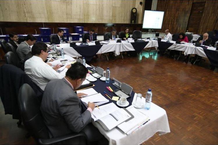 La Comisión de Postulación continúa con el proceso de elección de fiscal general