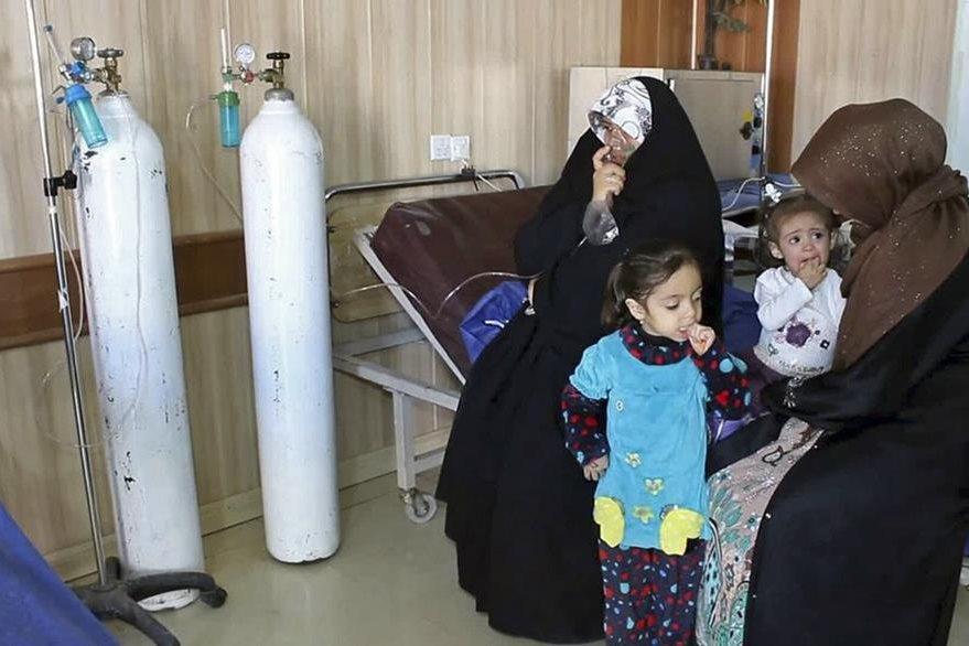 El ataque químico causó una emergencia de salud en Irak. (Foto Prensa Libre: AP).